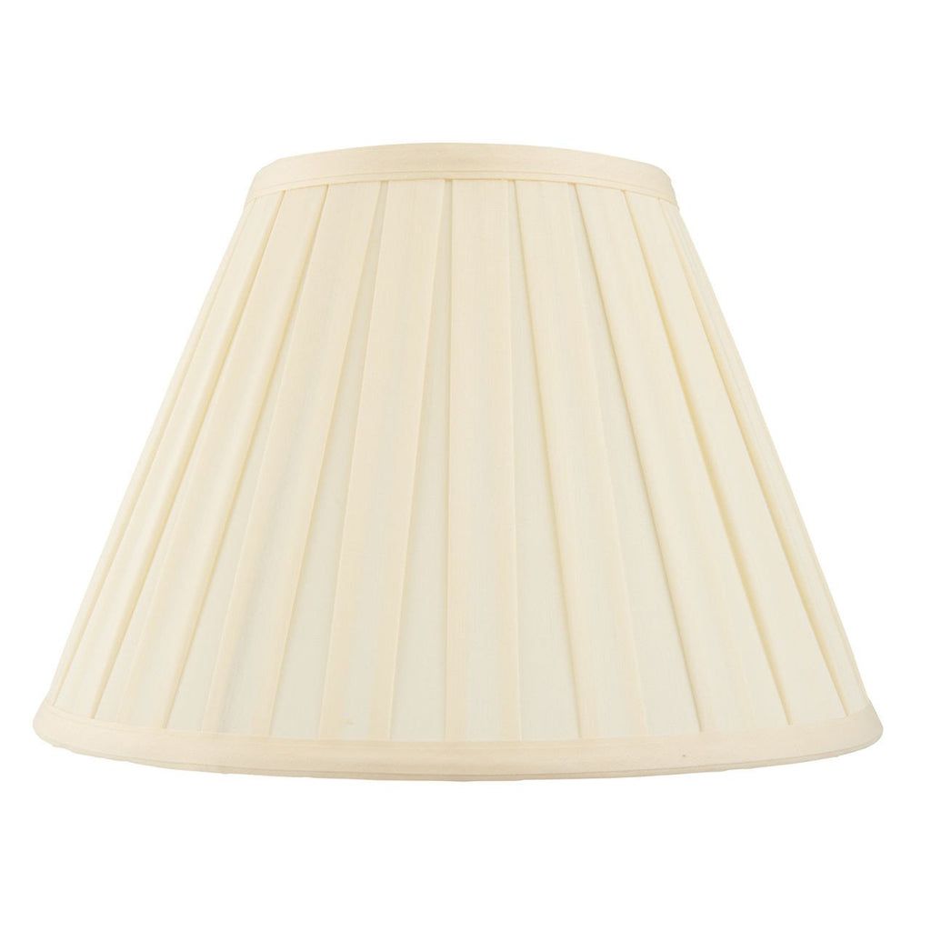Endon Lighting CARLA-6 Carla 6 inch Cream Fabric-Endon Lighting-DC Lighting Ltd