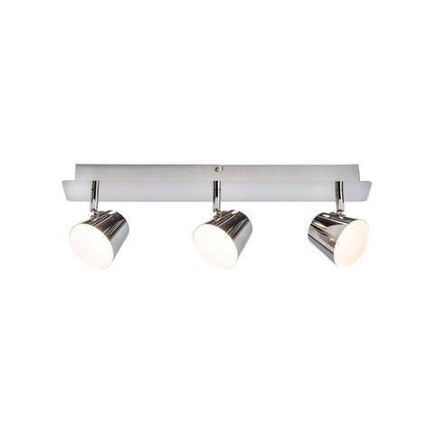 Endon Lighting G3223015 Torsion 3lt Plate 5W Chrome Effect Plate & Frosted Acrylic