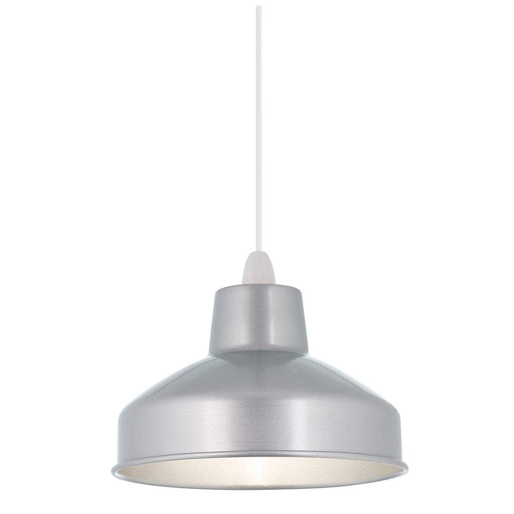 Endon Lighting NE-ASTON-AL Aston Non Electric 60W Aluminium-Endon Lighting-DC Lighting Ltd