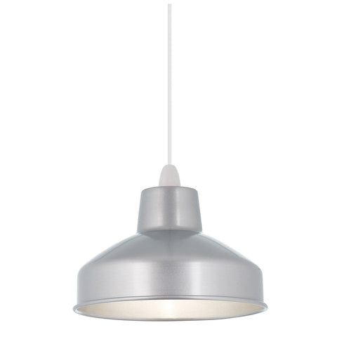 Endon Lighting NE-ASTON-AL Aston Non Electric 60W Aluminium