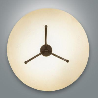 Fabas Luce 2498-65-171 Devon Ceiling Lamp Medium Dark Rust