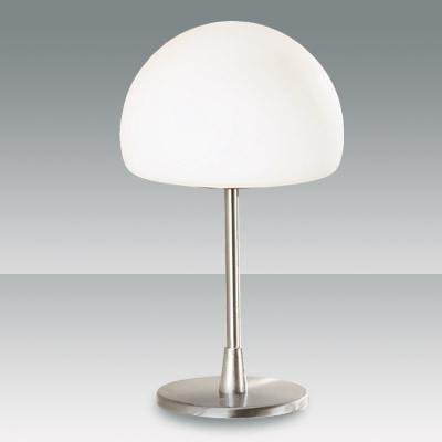 Fabas Luce 2561-30-178 Gaia Table Lamp Satin Nickel