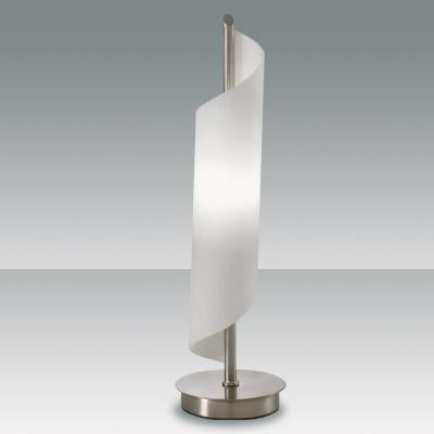 Fabas Luce 2742-30-178 Kerry Table Lamp Satin Nickel