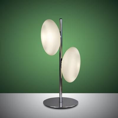 Fabas Luce 3116-30-138 Melody Table Lamp Chrome-Fabas Luce-DC Lighting Ltd