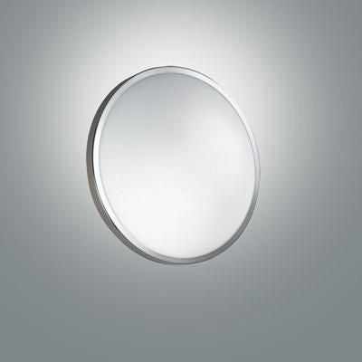 Fabas Luce 3166-61-138 Plaza Ceiling LED Chrome Small Warm White