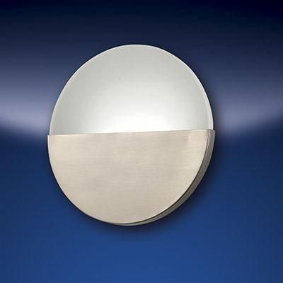 Fabas Luce 3178-29-178 Witney Wall Lamp LED 18W Warm White Satin Nickel-Fabas Luce-DC Lighting Ltd