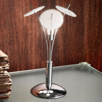 Fabas Luce 3188-30-102 Cleveland Table Lamp G9 White-Fabas Luce-DC Lighting Ltd