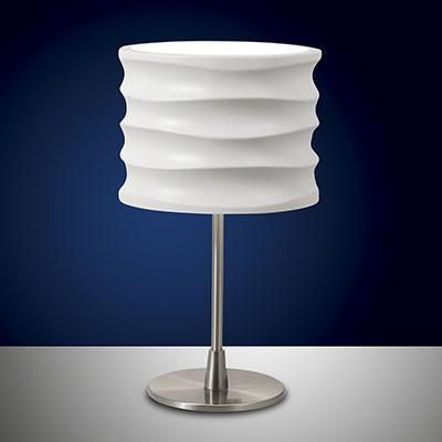 Fabas Luce 3223-30-102 Chantal Table Lamp White