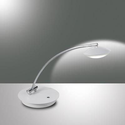 Fabas Luce 3255-30-102 Hale Table Lamp White-Fabas Luce-DC Lighting Ltd