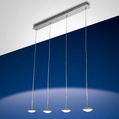 Fabas Luce 3255-49-212 Hale Suspension Lamp 4 Light Aluminum-Fabas Luce-DC Lighting Ltd