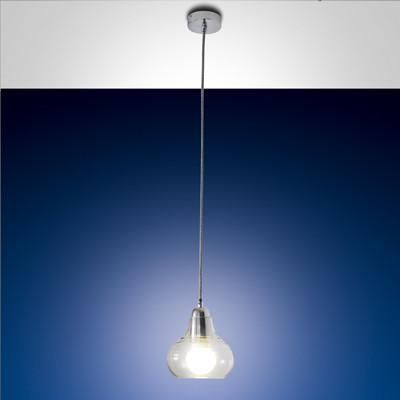 Fabas Luce 3267-40-138 Liri Suspension Lamp Chrome-Fabas Luce-DC Lighting Ltd
