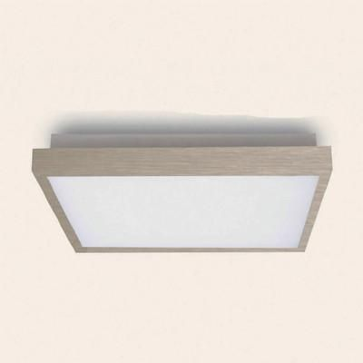 Fabas Luce 6701-02-974 Bay Ceiling Lamp Satin Nickel LED Warm White