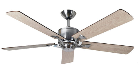 "Fantasia Delta 42""/52"" Low Energy Fan Available In Two Finishes-Fantasia Fans-DC Lighting Ltd"