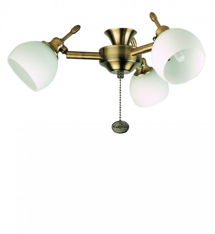 Fantasia Florence 3-Light Cluster Halogen Light Kit In 3 Finishes-Fantasia Fans-DC Lighting Ltd