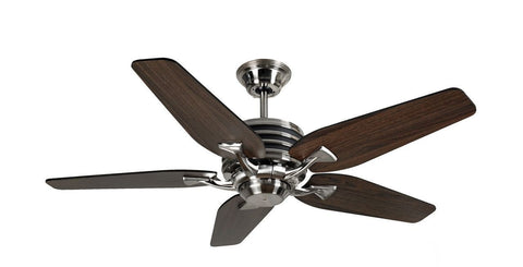 "Fantasia Omega 44""/52"" Brushed Nickel Low Energy Fan"