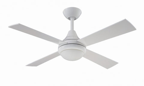 "Fantasia Sigma 42"" Ceiling Fan In Gloss White Finish"
