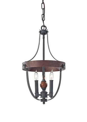 Feiss FE/ALSTON3 Alston 3Lt Chandelier