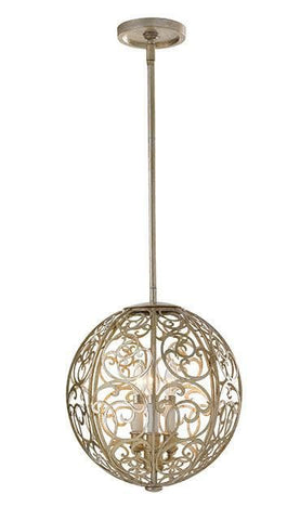 Feiss FE/ARABESQUE3 Arabesque 3Lt Chandelier