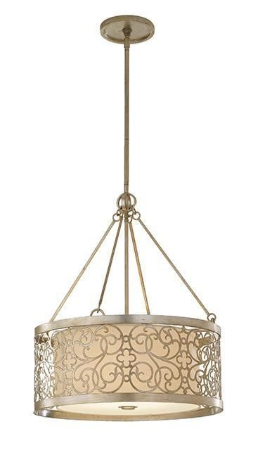 Feiss FE/ARABESQUE4 Arabesque 4Lt Chandelier-Feiss-DC Lighting Ltd
