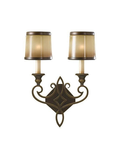 Feiss FE/JUSTINE2/B Justine 3Lt Wall Light