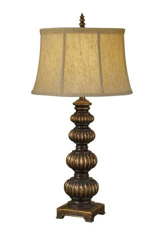 Feiss FE/OAKCASTLE TL Oakcastle 1Lt Table Lamp
