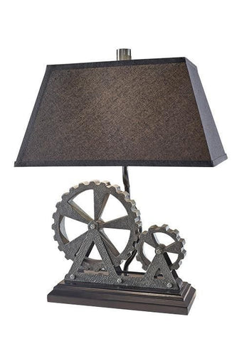 Feiss FE/OLD INDUST TL Old Industrial 1Lt Table Lamp