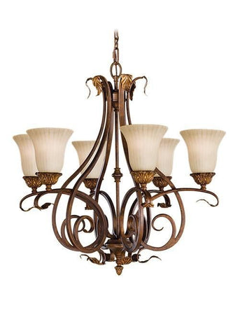 Feiss FE/SONOMAVAL6 Sonoma Valley 6Lt Chandelier