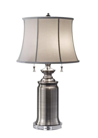 Feiss FE/STATERM TL AN Stateroom 2Lt Table Lamp Antique Nickel