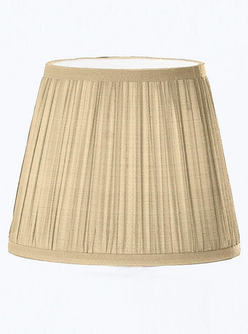 Franklite 1086 Beige Pleat Silk Candle Shade