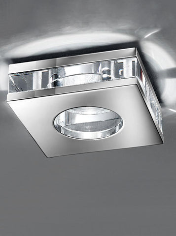 Franklite RF267 LV 50W Crystal Downlight IP65