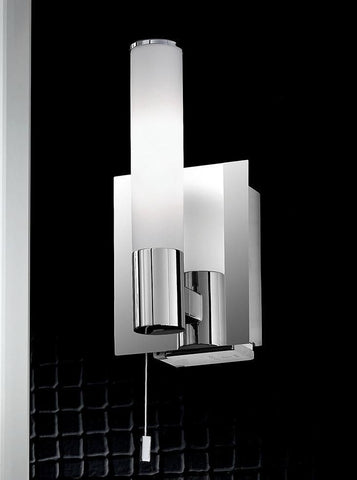 Franklite WB977 Wall Light with Shaver Socket IP44