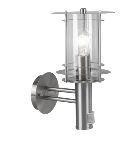 Globo Lighting 3151S Outdoor Lamp Stainless Steel, 1 x E27 60W Lamp