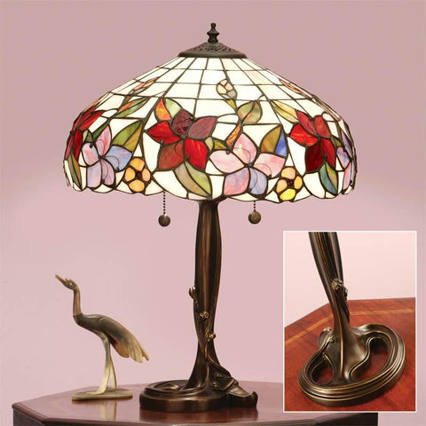 Interiors 1900 64031 Country Border Table Lamp