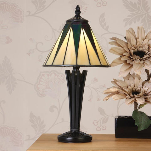 Interiors 1900 70367 Dark Star Small Table Lamp