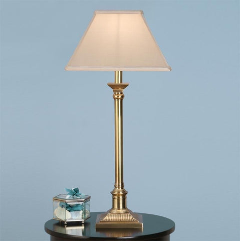 Interiors 1900 ABY1008AB + AL12OYS Grenville Brass With Oyster Shade