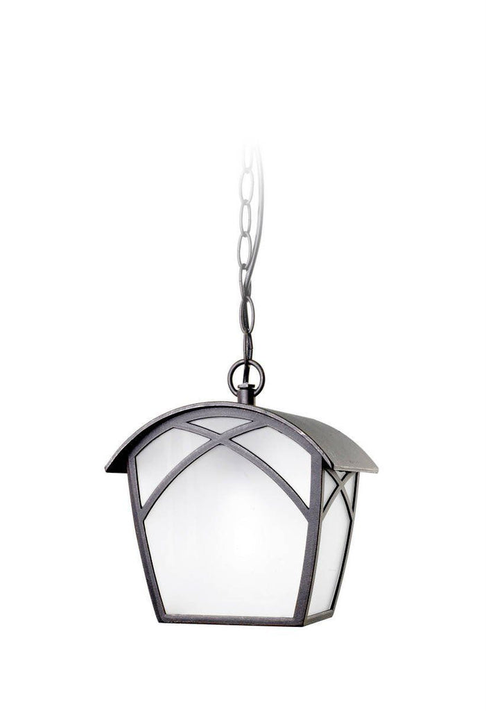 LEDS C4 OUTDOOR ALBA 00-9350-18-AA Pendant Lantern With Frosted Or Amber Glass-LEDS C4-DC Lighting Ltd