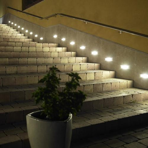 LEDS C4 OUTDOOR MICENAS 05-9179-34-B8 Brick Light-LEDS C4-DC Lighting Ltd