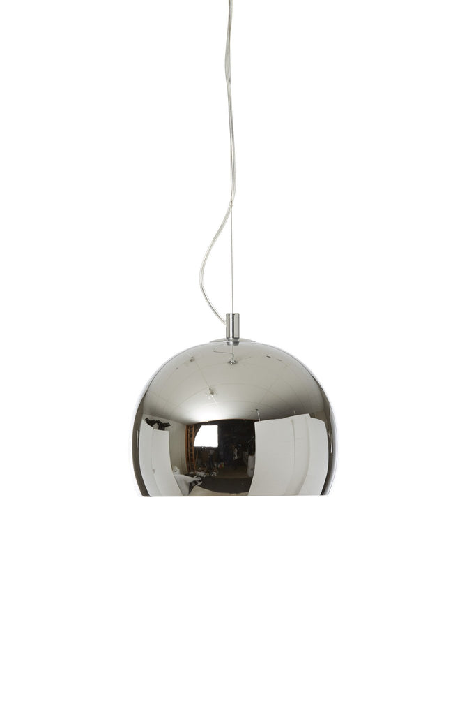 Lounge Pendant In Chrome Finish With 9 Shade Colours-Danalight-DC Lighting Ltd