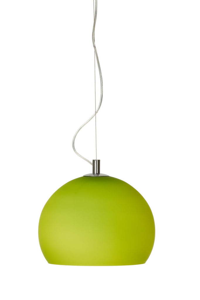 Lounge Pendant In Chrome Finish With 9 Shade Colours – DC Lighting Ltd