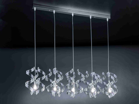 Metallux Astro 205.505-206.505 5-Light Pendant Bar