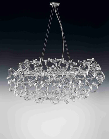 Metallux Astro 205.520-206.520 6-Light Oval Pendant