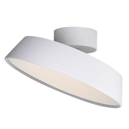 Nordlux Alba 77196001 White LED Ceiling Light-Nordlux-DC Lighting Ltd