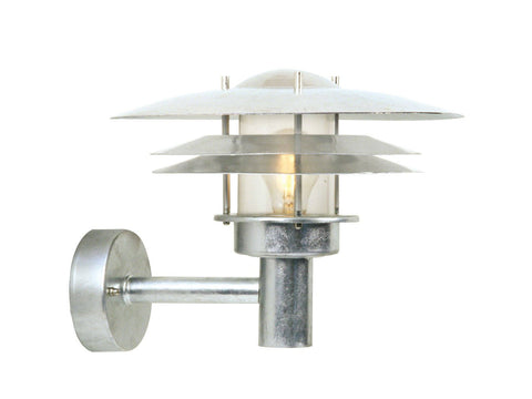 Nordlux Amalienborg 10600219 Galvanized Wall Light-Nordlux-DC Lighting Ltd