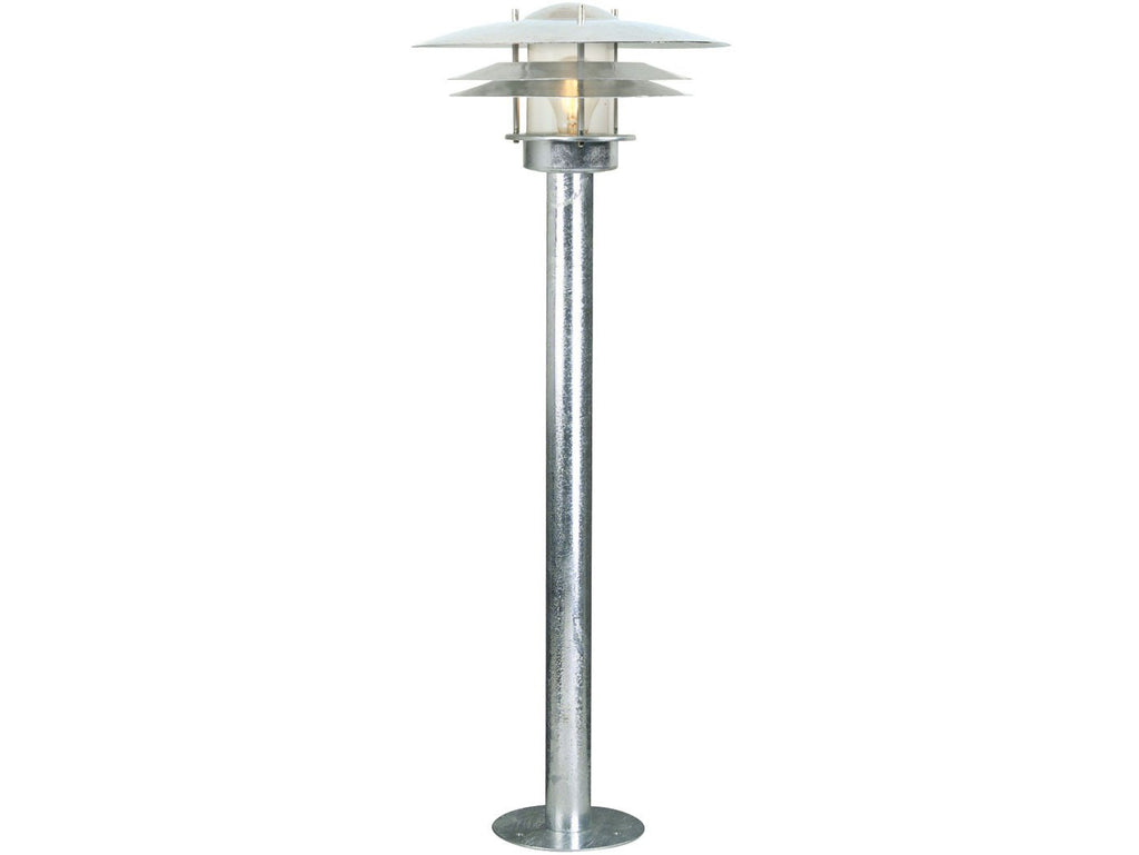 Nordlux Amalienborg 10600319 Galvanized Garden Light-Nordlux-DC Lighting Ltd