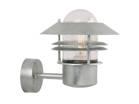 Nordlux Blokhus 25011031 Galvanized Wall Light | Up