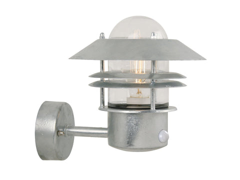 Nordlux Blokhus 25031031 Galvanized Wall Light With Sensor
