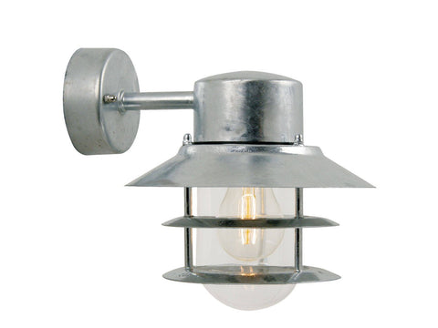 Nordlux Blokhus 25051031 Galvanized Wall Light | Down