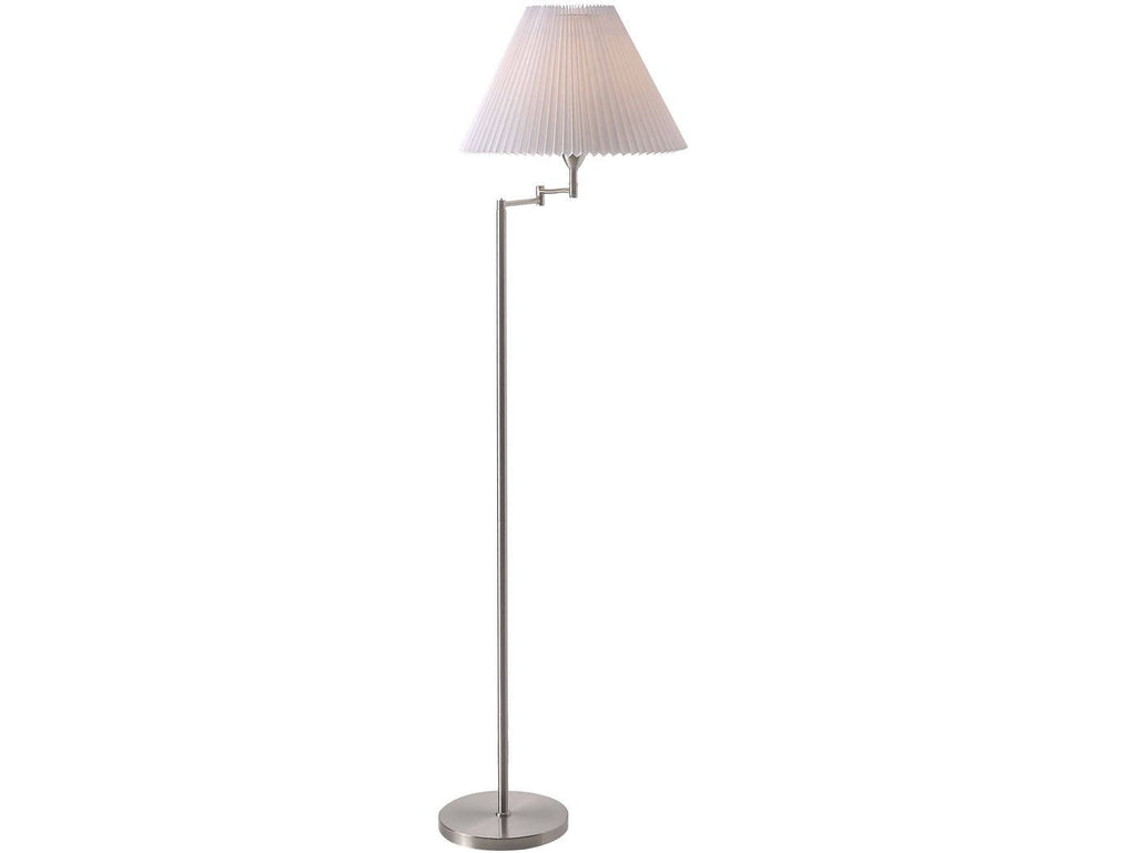Nordlux Break 19874001 Brushed steel Floor Lamp-Nordlux-DC Lighting Ltd