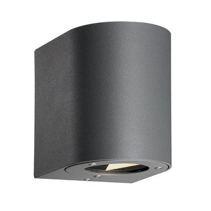 Nordlux Canto 77571010 Grey LED Wall Light-Nordlux-DC Lighting Ltd