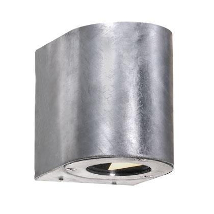 Nordlux Canto 77571031 Galvanized Steel LED Wall Light
